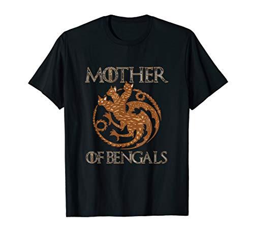 Bengal Cat Kitten Mother Gift T-Shirt