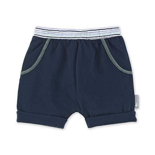 Sterntaler Baby-Jungen Hose kurz Shorts, Blau (Marine 300), (Herstellergröße: 56)