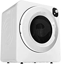 Panda 110V Portable Electric Compact Cloth Dryer, 13.2lbs, White and Black