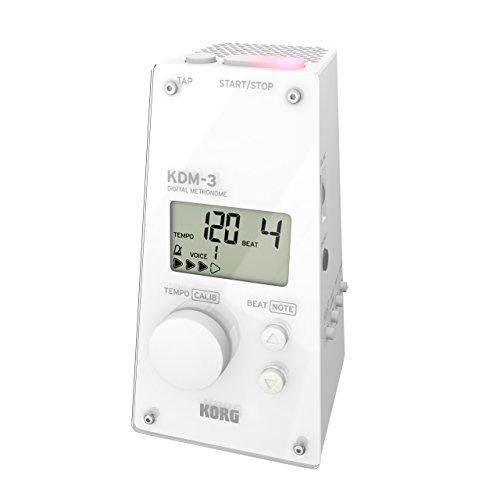Korg KDM3WH metronomo digitale–bianco