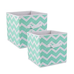 DII Foldable Fabric Storage Bins for Nursery, Offices, and Homes