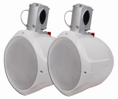 """MCM Custom Audio 60-10020 6 1/2"""" Marine Wakeboard Two-Way Speaker Pair"""