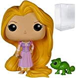 Funko Pop! Disney Princess: Tangled - Rapunzel & Pascal Vinyl Figure (Bundled with Pop Box Protector Case)