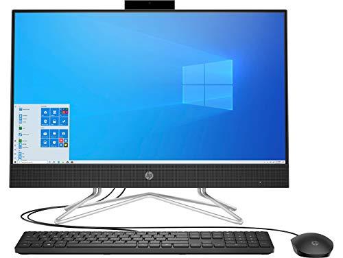 HP AlO Ryzen 3 3250U 54.6 cm (21.5-inch) FHD All-in-One Desktop with Alexa Built in (8GB/1TB HDD/Windows 10/MS Office 2019/Wired Keyboard & Mouse), 22-df0444in