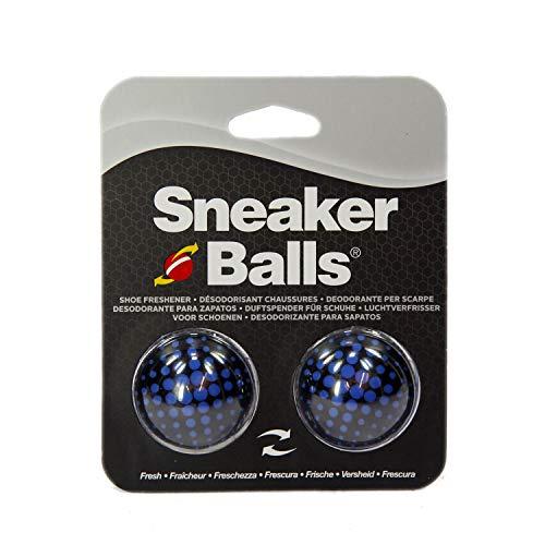 Sneaker Balls Para zapatos, desodorante, ambientador, zapatillas deportivas (Matrix azul).