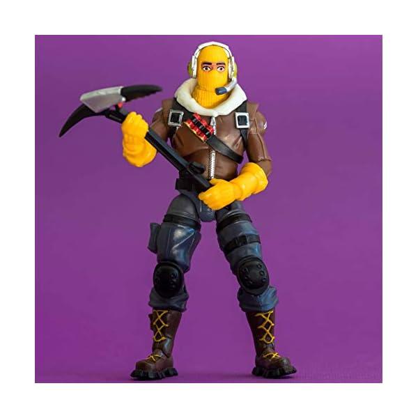 Jazwares-Fortnite figura Raptor (Toy partner FNT0014) coleccionables Teknique, multicolor, talla única , color/modelo… 6