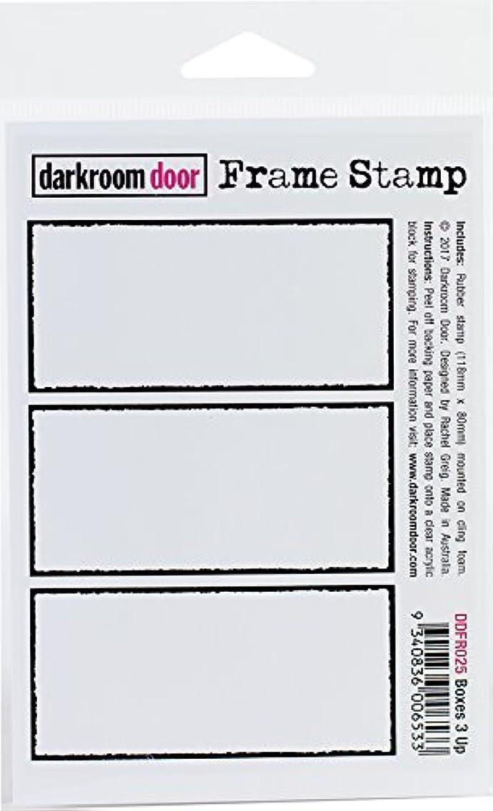 Darkroom Door Boxes 3 Up Cling Stamp 4.5