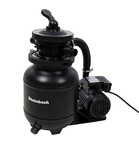 Steinbach Filteranlage Classic 250N, Umwälzleistung 3,8 m³/h, 230 V/200 W, 7-Wege-Ventil, Anschluss Ø 32/38 mm, 040385