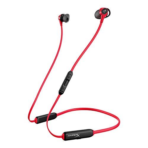 HyperX Cloud Buds – Bluetooth Kabellose Kopfhörer, Qualcomm aptX HD, 10 Stunden Batterielaufzeit, 14-mm-Treiber, Bequeme Silikon-Ohrhörer, 3 Ohrpolstergrößen inklusive, Netzbeutel für unterwegs