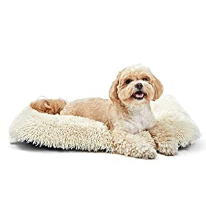 ANWA Dog Bed Large Dogs, Washable Dog Bed Crate Pad for Cage Kennel, Dog Bed Crate Mat 24″ 30″ 36″ 42″