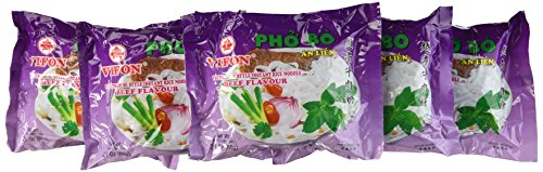 Vifon Beef Flavor Soup Instant Pho Noodle Soup, Beef Flavour, 2.1 Ounce (Pack of 24)