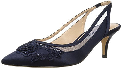 NINA Women's TAELA Pump, New Navy, 6.5 M US