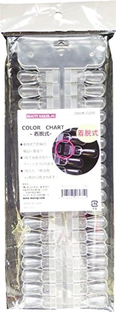 医学しょっぱいリマビューティーネイラー カラーチャート 着脱式 72色 NCC-11
