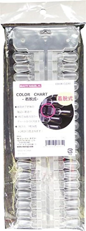 プレゼンクレジット報告書カラーチャート 着脱式 NCC-11