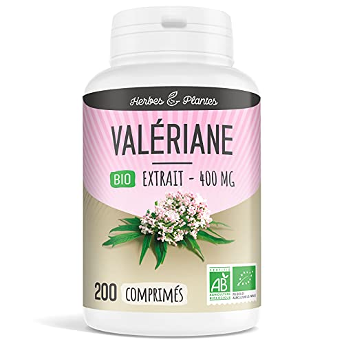 Herbes Et Plantes Valériane Bio 200 Comprimés...