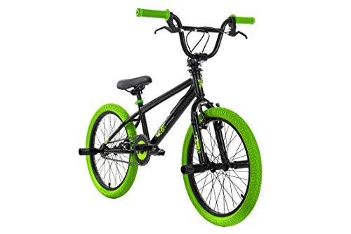 KS Cycling BMX Freestyle 20'' G-Acid schwarz-grün