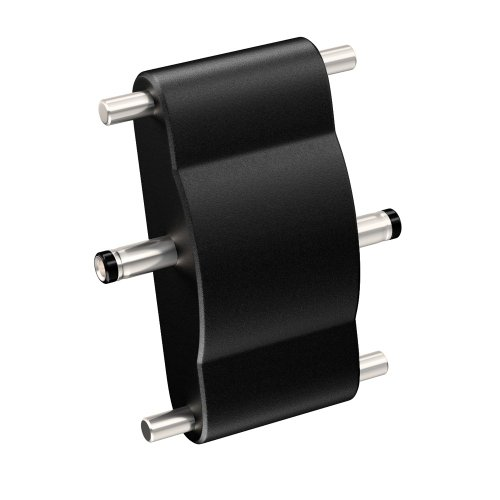 parlat Verbinder für unsere flachen SIRIS 24V Unterbau-Leuchten schwarz