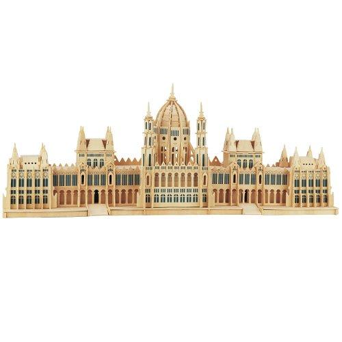 Parlament Budapest 3D Holzbausatz Holz Sehenswürdigkeit Steckpuzzle Holzpuzzle Bauwerk P088