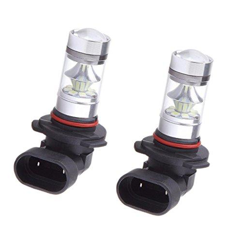 Sharplace 2X Indicateur Ampoule LED 9005 HB3 100W Glace Bleu Lampe Antibrouillard de Voiture