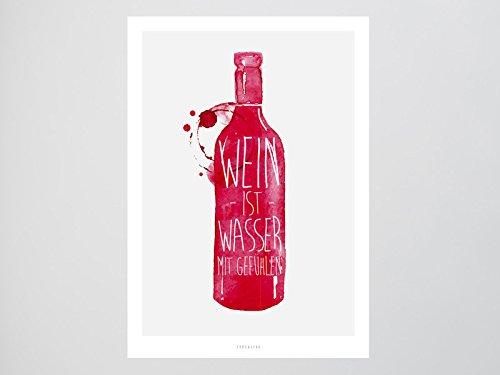 Kunstdruck Poster / Wein