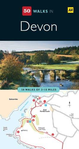 50 Walks In Devon (AA 50 Walks Series) (English Edition)