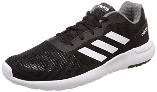 Adidas Men's CYRAN M CBLACK/FTWWHT/VISGRE Running Shoes-10 UK/India (44 EU) (CK9449_10)
