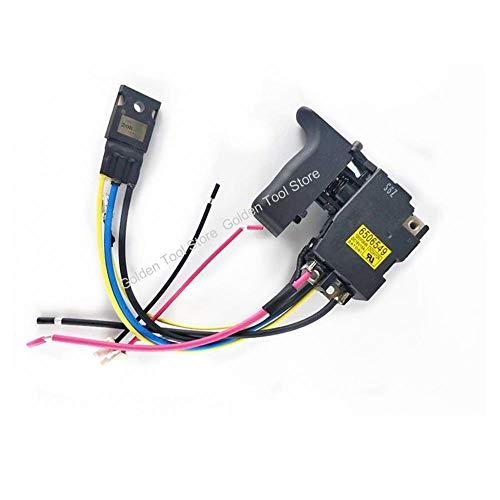 MQEIANG Switch 6506549 638883-4 638882-6 Reemplazo para Makita DHR202Z DHR202RMJ DHR202RM1J BHR202Z BHR202RFE DHR202 BHR202 DHR202RME
