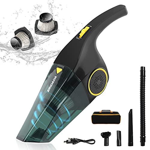 Handheld Vacuums Cordless Eridada 7000Pa Powerful Suction Hand Held Vacuum...