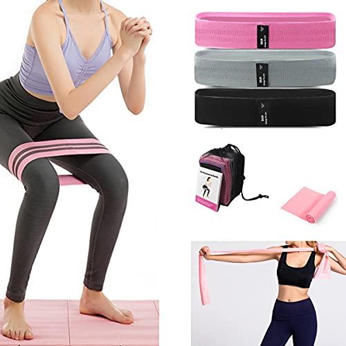 Fasce di resistenza per gambe e culo, per esercizi di coordinamento ed equilibrio, per allenamento, per sport, fitness e fitness