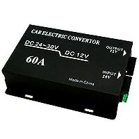DC-DCコンバーター DCDC/デコデコ変換器 24V→12V 60A