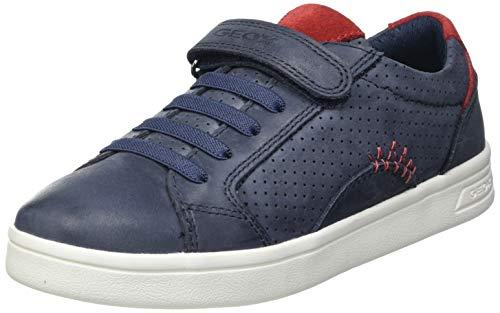 Geox J DJROCK Boy E, Zapatillas, Azul Marino, 38 EU