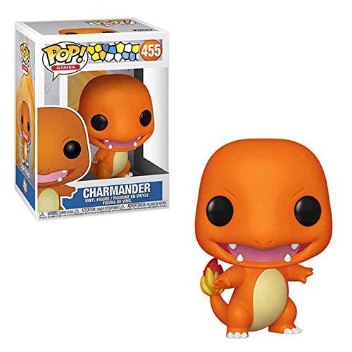 Funko Pop Pikachu Charmander Ardilla Figuras de Vinilo Modelo Juguetes Regalos-con Caja