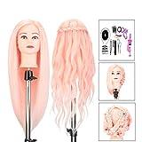Frisierkopf Friseur Neverland Beauty24' Übungskopf Perückenkopf Puppenkopf 50% Echthaar Haar...