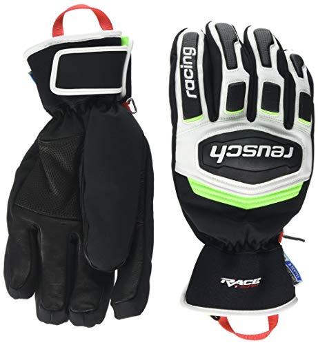Reusch Herren Race Training R-TEX XT Handschuhe, Black/White/neon Green, 8
