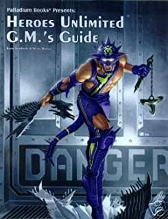 Heroes Unlimited G.M.'s Guide 2nd Ed. (Palladium Books)