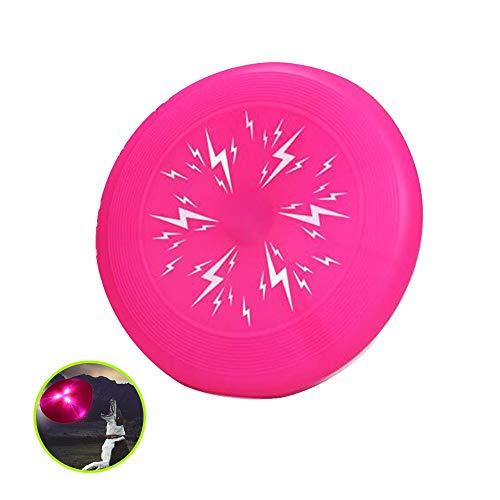 Hardworking person-ZHL Hunde Frisbee,Leuchtende Flugscheibe Große Dog Frisbee Hundespielzeug Wasser schwimmend Outdoor Fitness Flying,für mittlere und große Hunde.Large