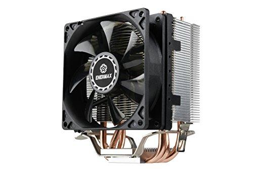 Enermax ETS-N31-02 Dissipatore CPU Compatto con flusso laterale e ventola PWM da 9cm