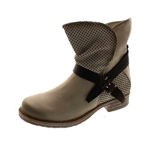 maca_kitzbühel Damen - Stiefelette 2232 - beige, Schuhgröße:EUR 39