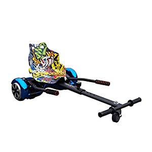 Electric Bikes Gift Gadgets Official Racer Hoverkart Adjustable Gokart for Smart Self Balance Heavy Duty Frame Scooter Fits 6.5 Inch, 8 Inch and 10 Inch [tag]