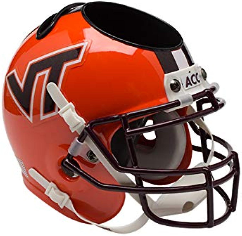 6e12a35fcfdb5 Schutt NCAA Virginia Hokies Football Helmet Desk Caddy Tech ...