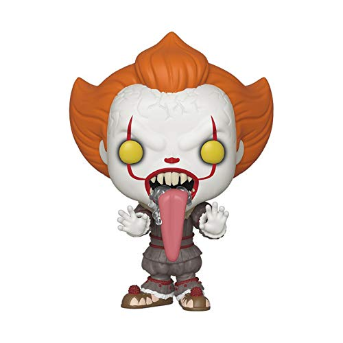 Funko- Pop Vinyl: Movies: IT: Chapter 2-Pennywise w/Dog Tongue Figura da Collezione, Multicolore, 40631