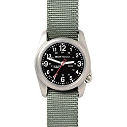 Bertucci A-2S Quartz Watch - best military field watch with 24 hour dial, under 100 dollars