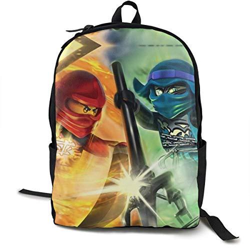 AOOEDM Backpack N-in-Ja-Go Coole 3D-Druckschule Rucksack Büchertaschen für Jungen Mädchen