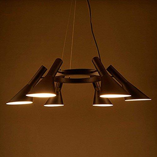 DSJ creatieve persoonlijkheid verlichting eenvoudige LED ijzeren lamp glazen bol woonkamer drie magische bonen kroonluchter