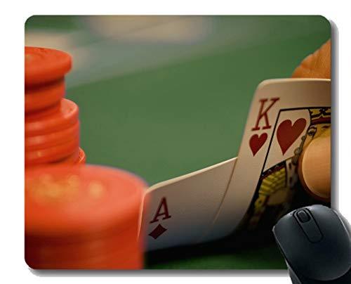 Jugando al póker Mousepad, Arte del póker Alfombrilla de Raton