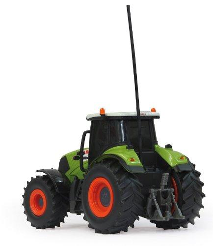 RC Traktor kaufen Traktor Bild 1: RC ferngesteuerter Traktor Claas Axion 850 mit Anhänger 1:28 - RTR - inkl. Batterien*