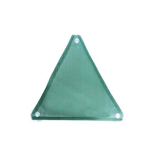 ZZM Hamac en maille de nylon souple respirant, hamac, triangle, filet suspendu, étagère, chaise longue, échelle avec ventouse