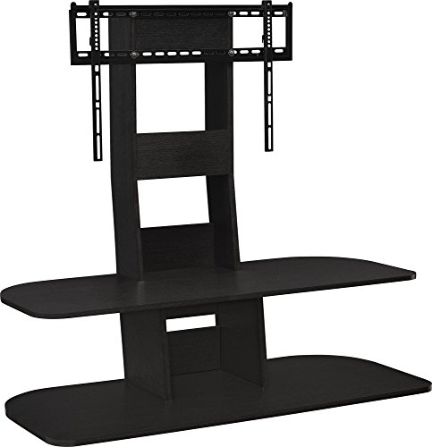 Ameriwood Home Galaxy TV Stand with Mount for TVs up to 65' Wide, Black