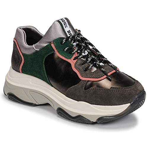 Bronx Damen Sneaker Low BAISLEY grün 39