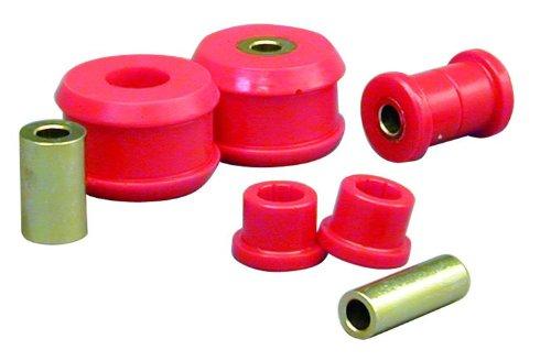 Prothane 22-202 – Juego de bujes para brazo de control frontal, color rojo